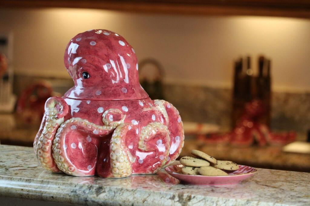 Octopus Cookie Jar