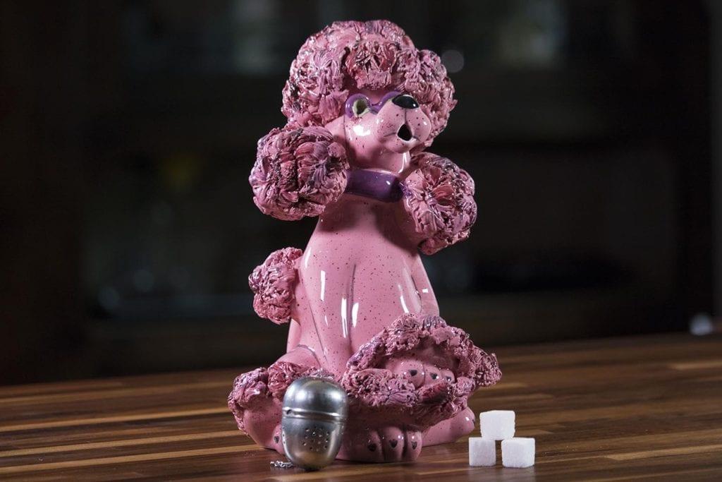Pink Poodle Teapot