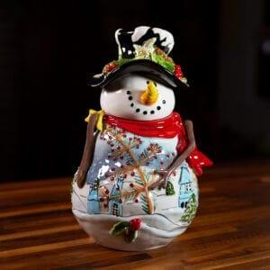 NIGHT BEFORE CHRISTMAS COOKIE JAR