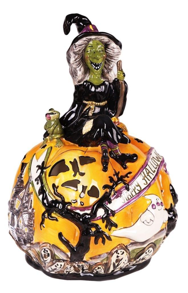 Grisellda's Pumpkin Patch Tea Light Holder