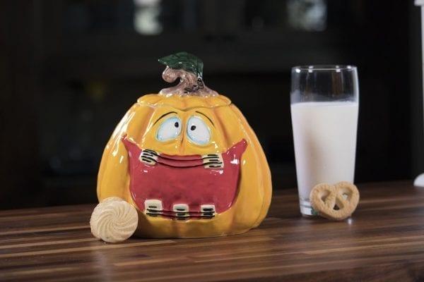 Jack O Big Mouth Cookie Jar