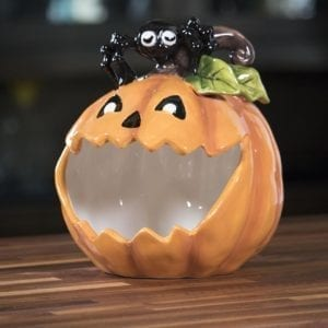 Pumpkin Spider Candy Bowl