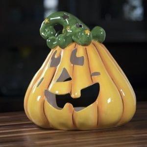 Pumpkin Jack Tealight Holder - Large