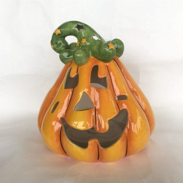 Pumpkin Jack Tealight Holder - Large