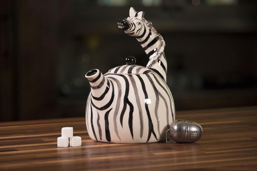 Zebra Teapot