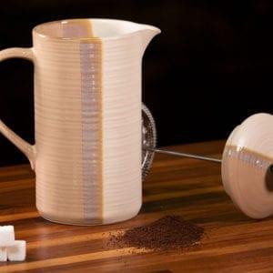 Reactive Split French Coffee Pot