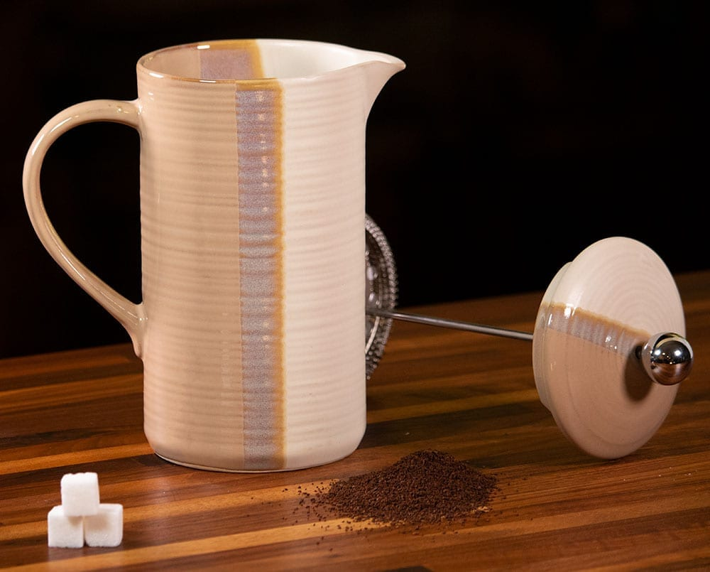 Reactive Split French Coffee Pot
