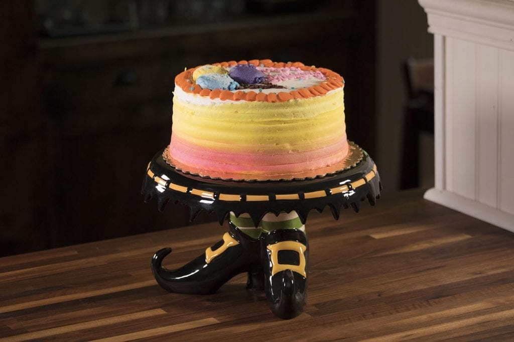 Witch Feet Cake Plate