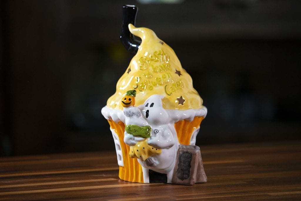 Ghostly Cupcake Tealight Holder