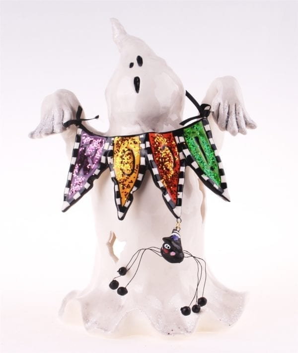 Boo Ghost Tealight Holder