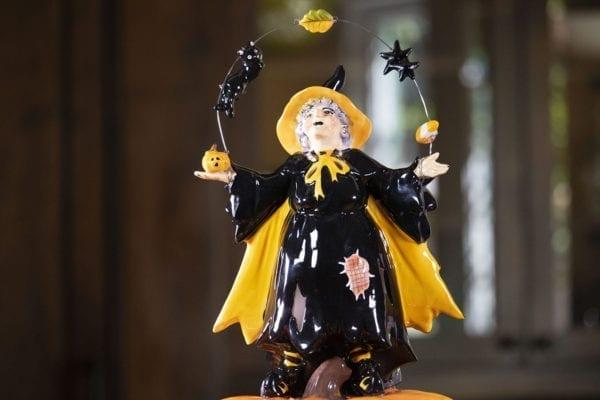 Girty and Pumpkin Tealight Holder