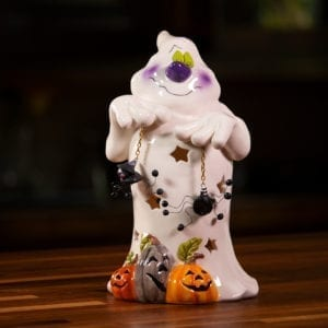 Ghosties Tricks Tealight Holder