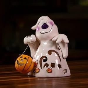 Halloween Ghost Tealight Holder - Small