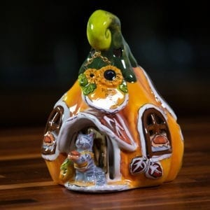 Pumpkin Cottage Candle House - Small