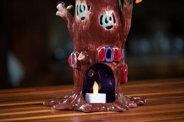 Webster Treehouse Tealight Holder - Large