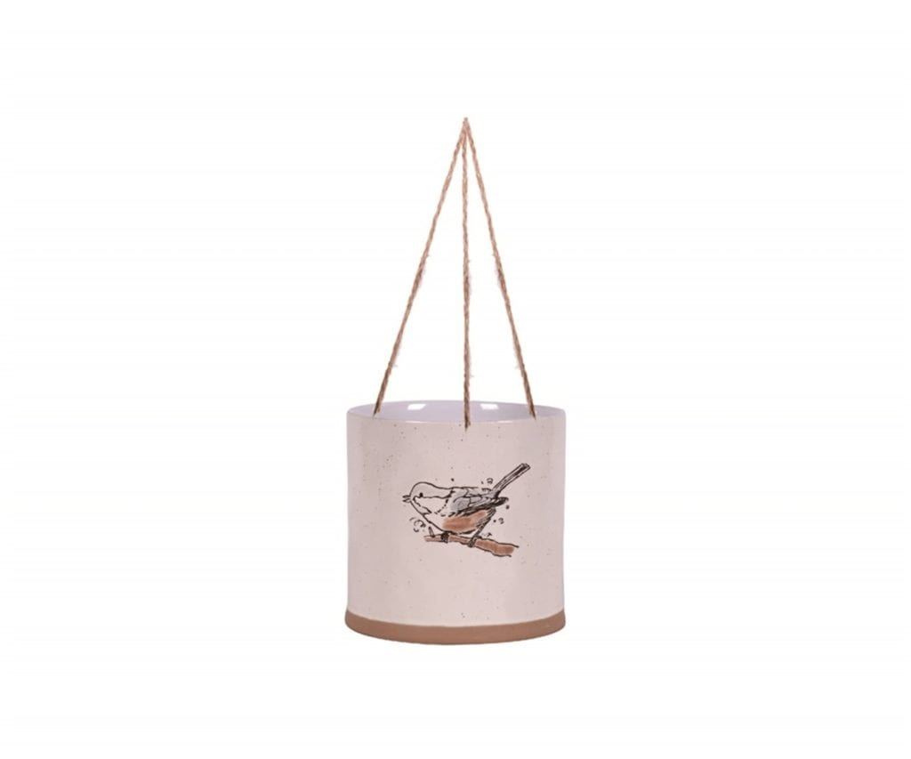 "Hanging Sally Sketch 6"" Flower Pot"