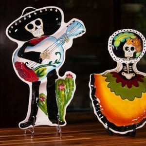Day of Dead Section Platter Set