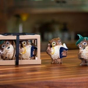 Owl Salt & Pepper Set