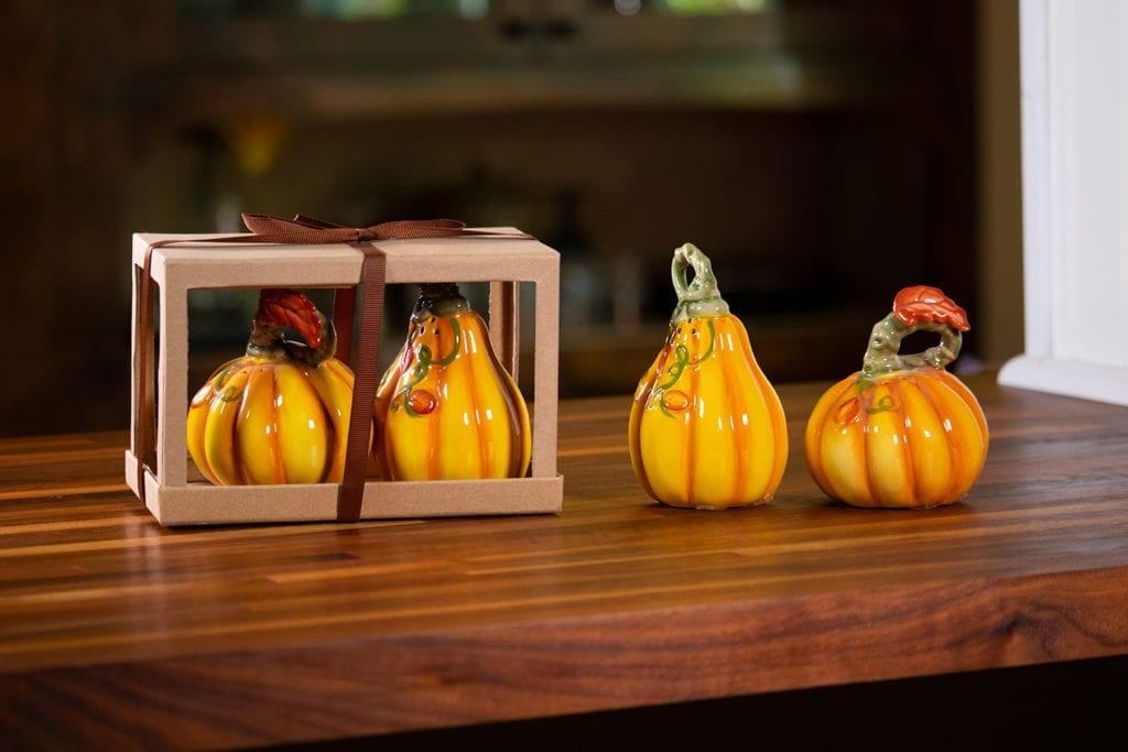 Pumpkin Salt & Pepper Set - Harvest Color