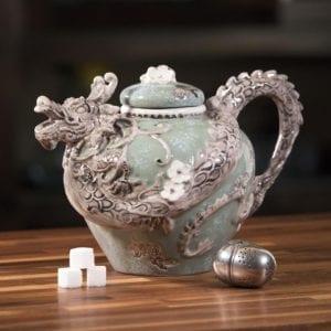 Green Dragon Teapot