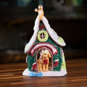 Kisses And Kibble Kennel Dog Candle House