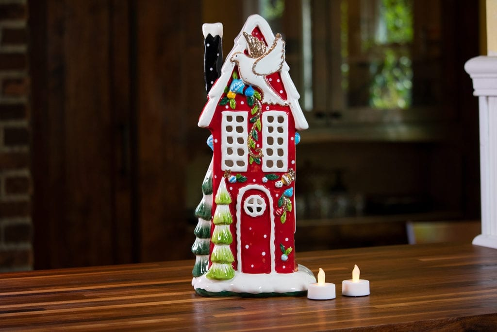 Christmas Village Candle House