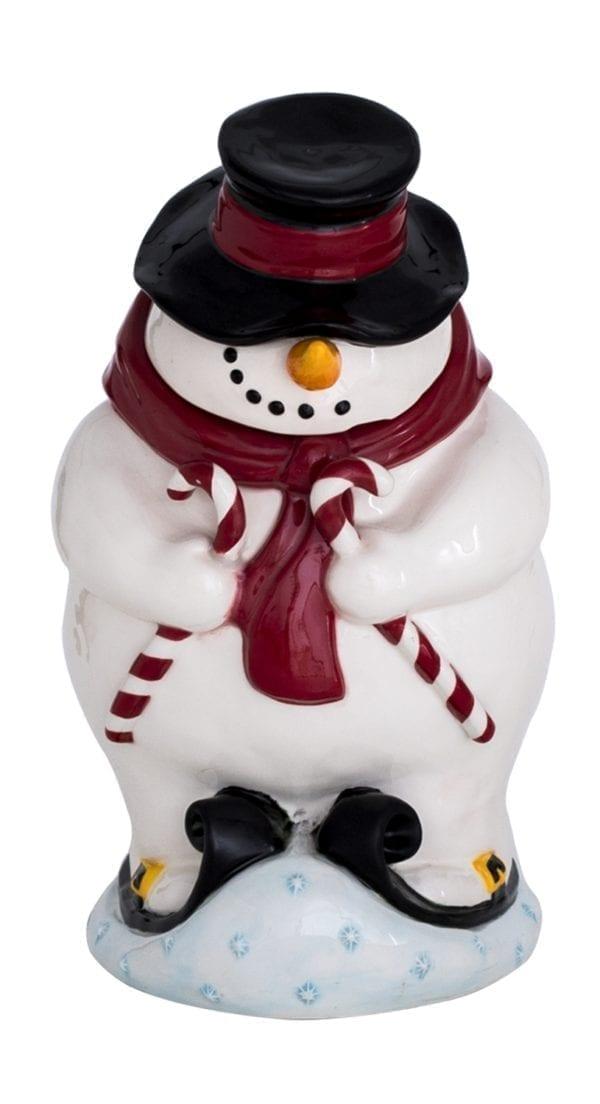 Mr. Mogul Snowman Cookie Jar