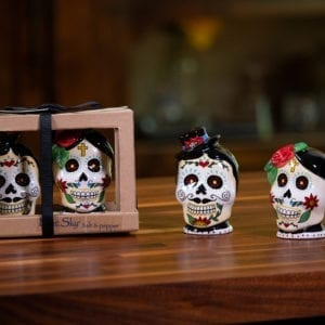 Day Of Dead Salt & Pepper Set