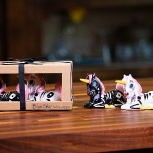 Sugar Skull Unicorns Salt & Pepper Set