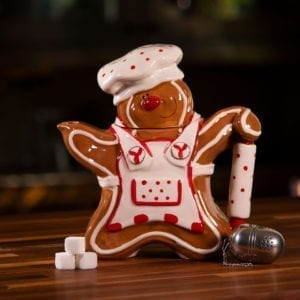 Christmas Gingerbread Teapot