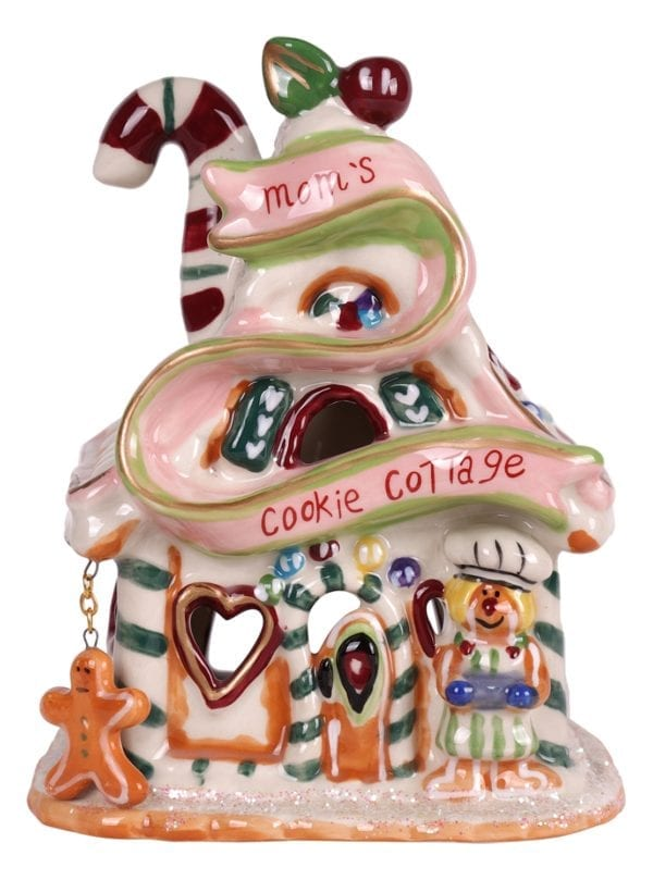 Mom's Cookie Cottage Candle House