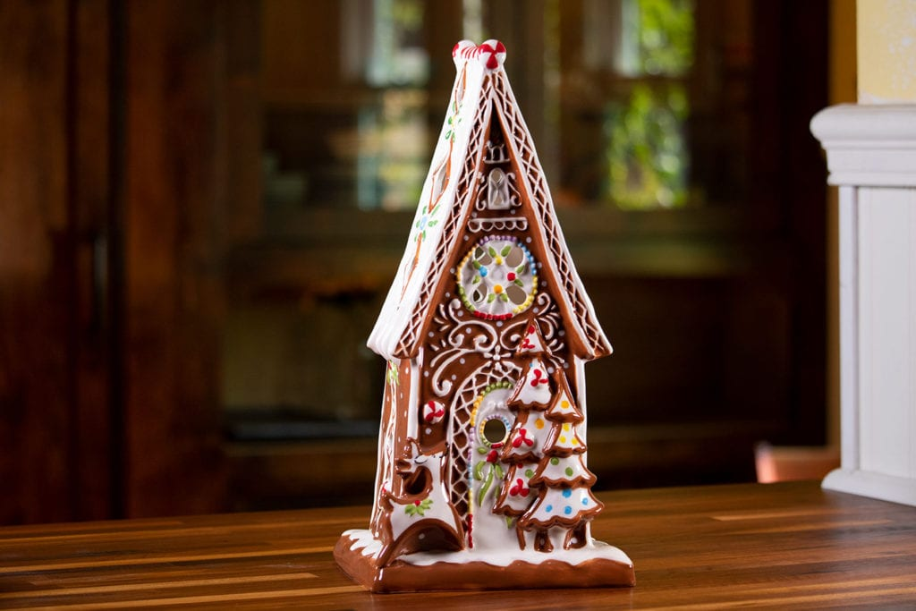 Gingerbread Candle House