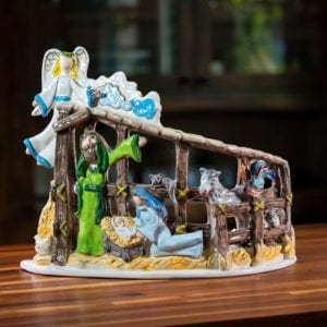 Bethlehem Nativity Tealight Holder