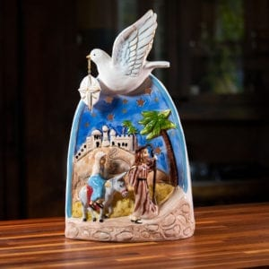 Bethlehem Tealight Holder