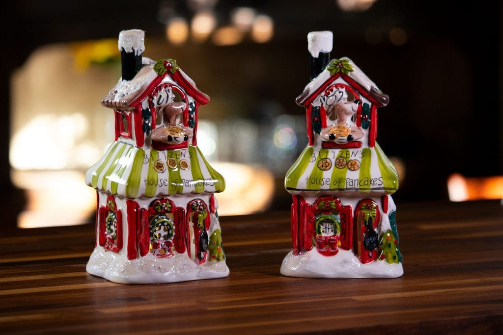 Blitzen's House of Pancakes Candle House