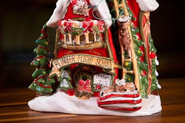 Rudolph's Flight School Candle House
