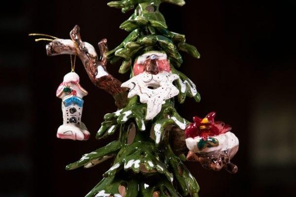 Woodland Comfort Tree Tealight Holder