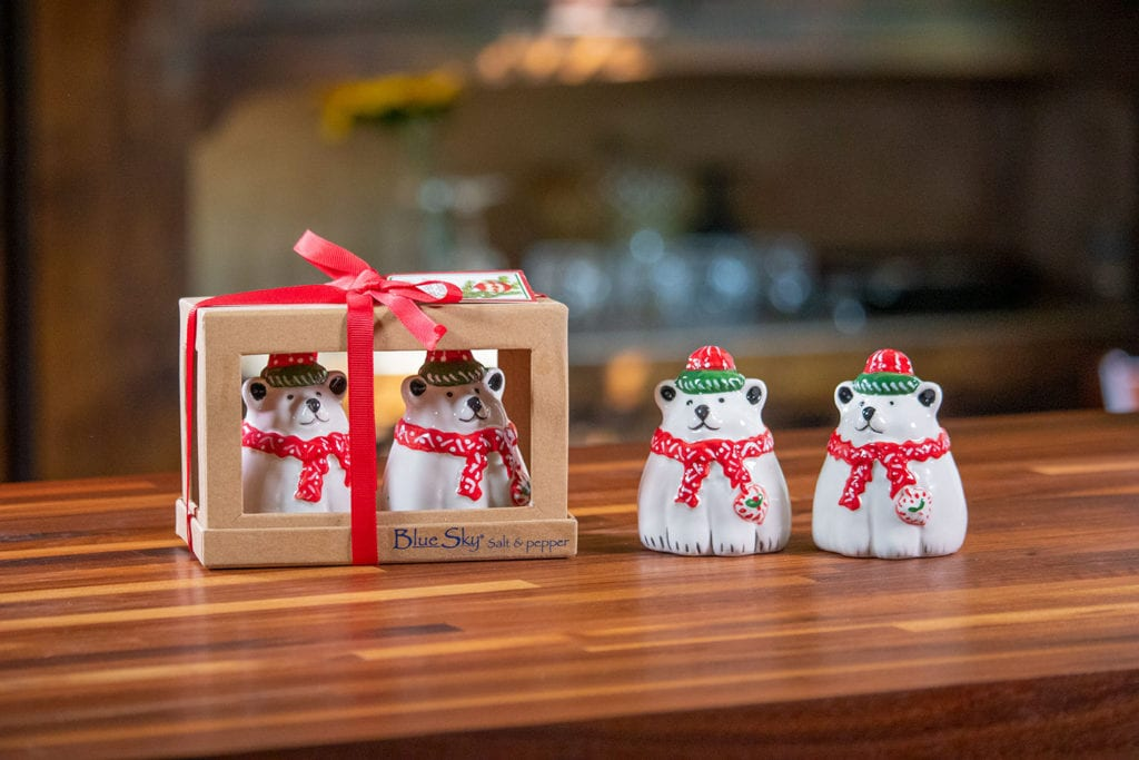 Christmas Bear Salt & Pepper Set