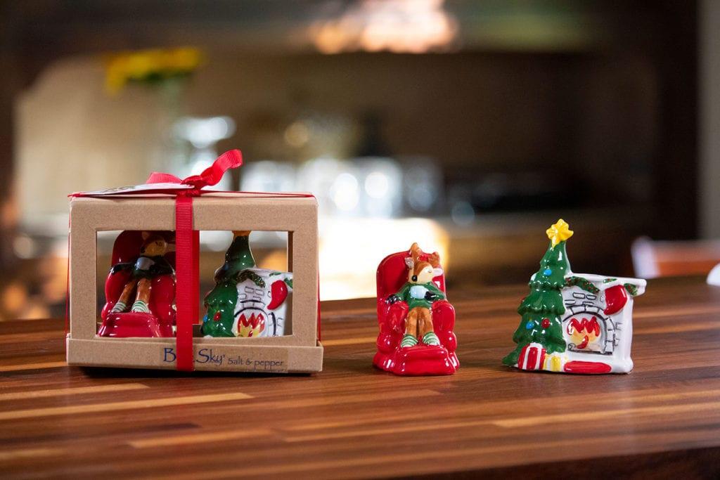Sleepy Reindeer Salt & Pepper Set