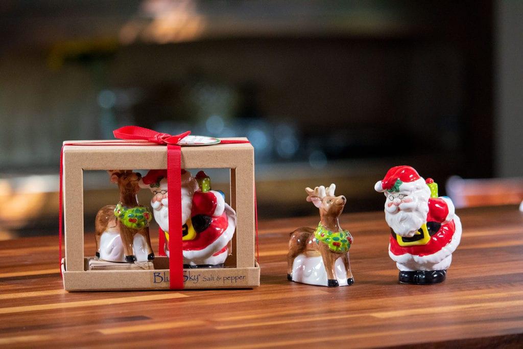 Santa Reindeer Salt & Pepper Set