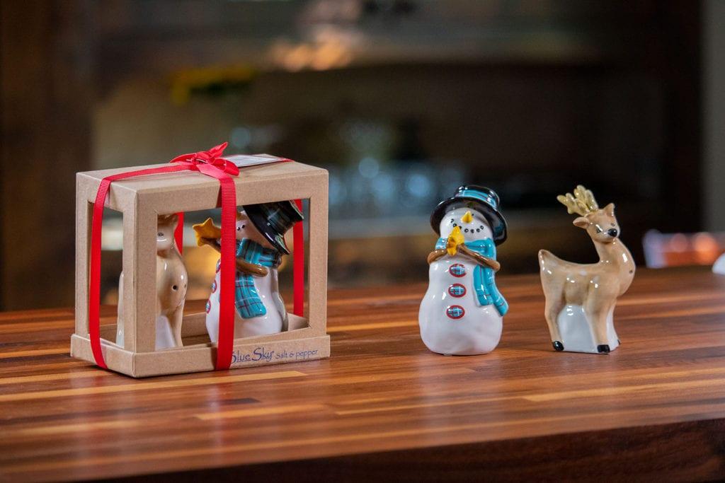 Deer And Snowman Salt & Pepper Set
