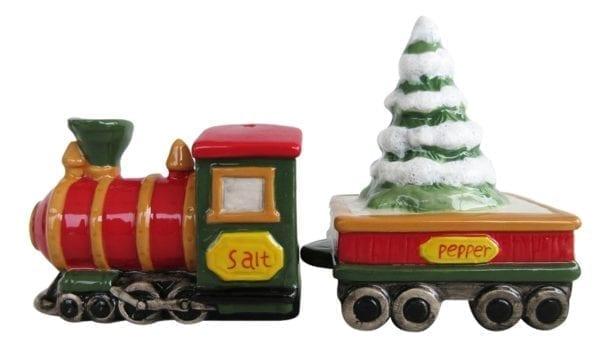 Christmas Train And Tree S&P Setac