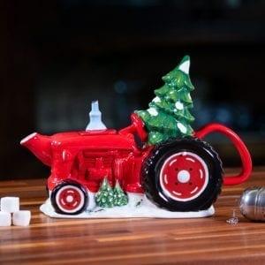 Tractor Tree Teapot