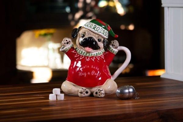 Hug A Pug Teapot