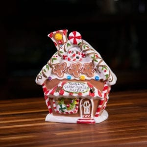 Dancing Gingerbread Bakery Candle House