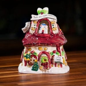 Night Before Christmas Candle House