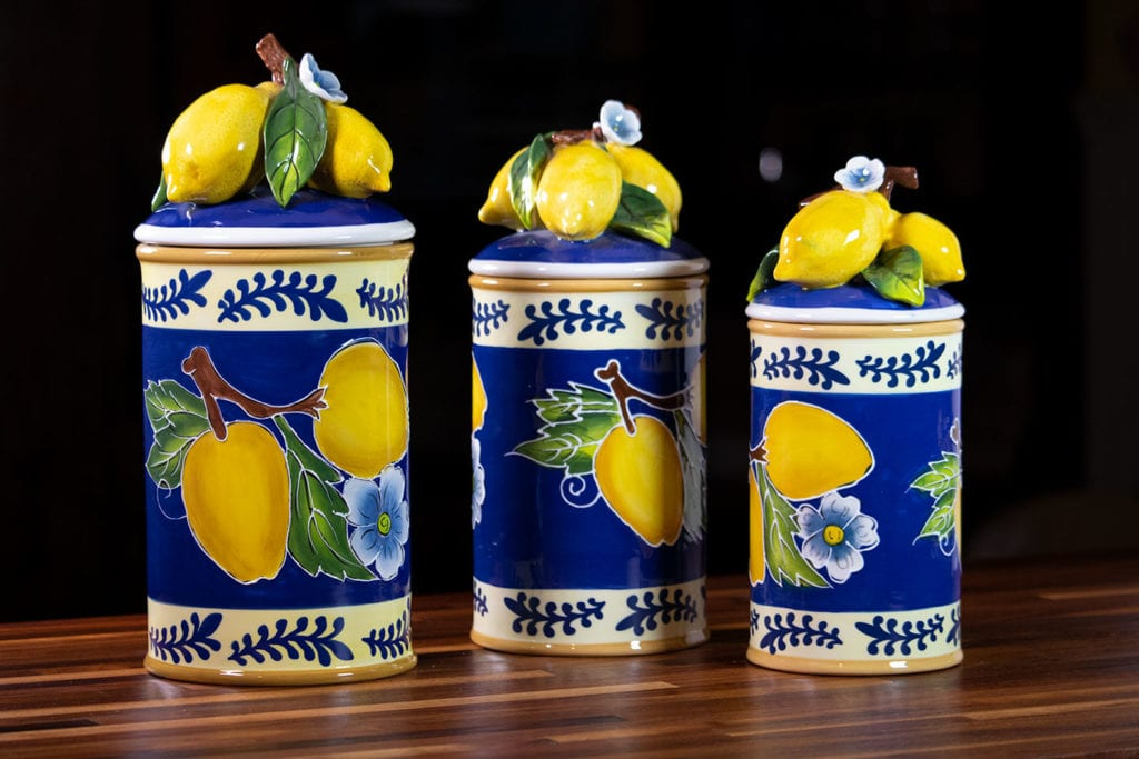 Lemon Canister Group
