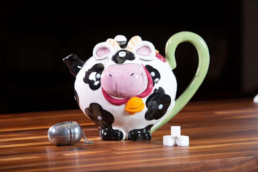 Cow Teapot