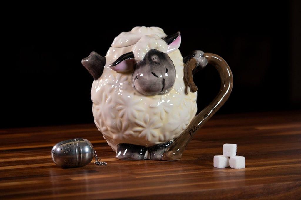 Lamb Teapot