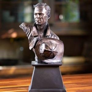 Hero Trophy Bust Figurine